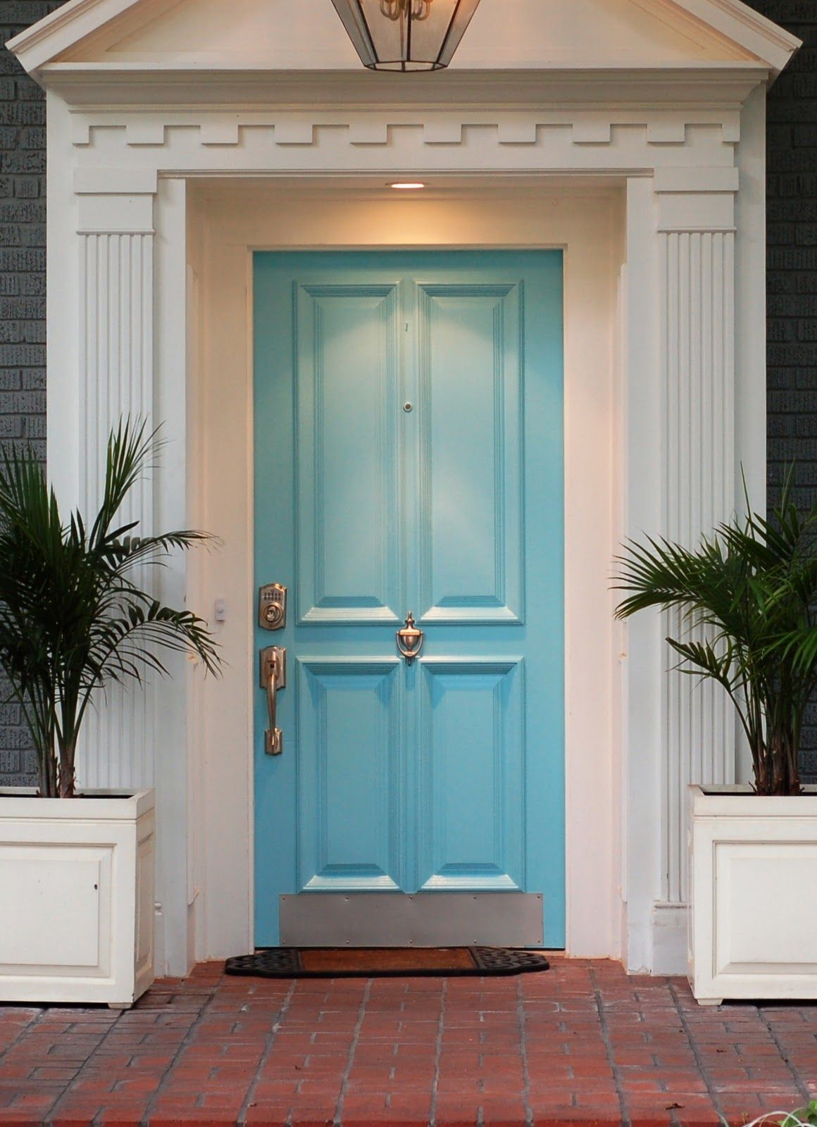 Feng Shui Blue Doors Represent Trust Loyalty And Stability The Color Blue Is Often Linked With Thou Front Door Design Front Door Colors Painted Front Doors