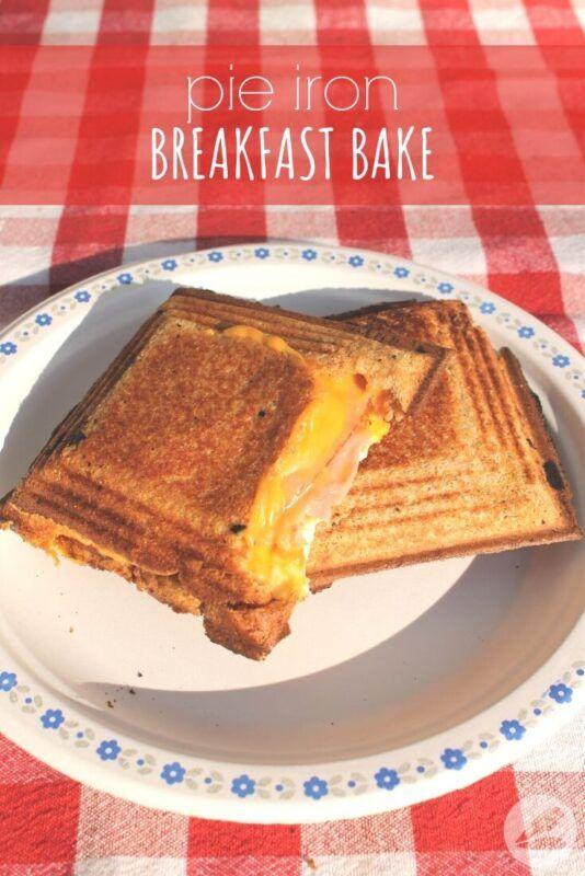 Photo of Pie Iron Breakfast Bake Recipe » Homemade Heather