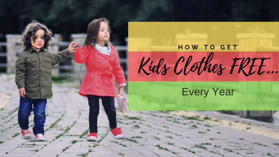 8 Ways to Get Free Kids Clothes