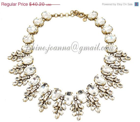 Bubble Necklace Beaded Necklace JCrew Inspired by JshineJewellery, $36.98