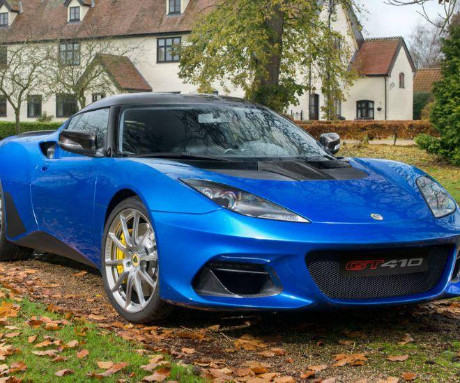 Lotus: The New Evora GT410 Sport