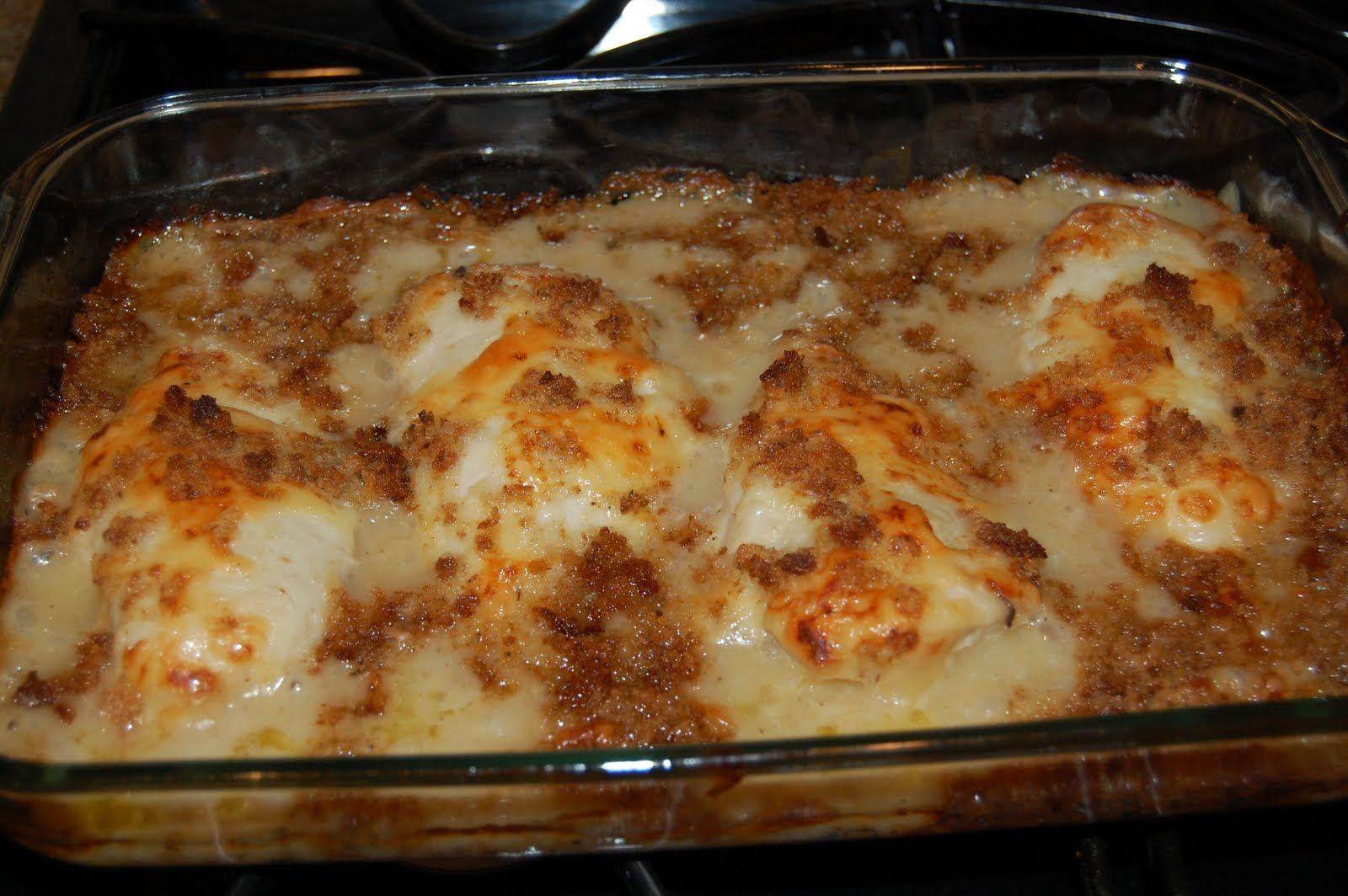 Baked Chicken Recipes Cream Of Mushroom