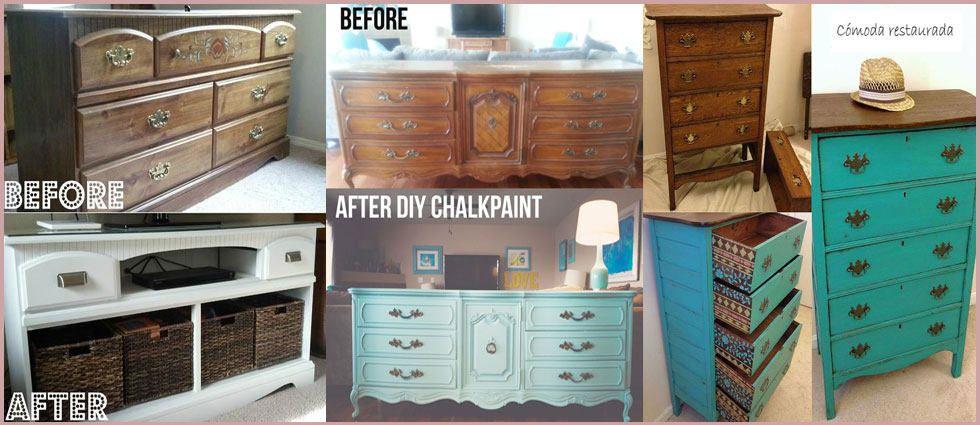 Restaurar y transformar c modas antiguas y modernas - Transformar muebles antiguos en modernos ...