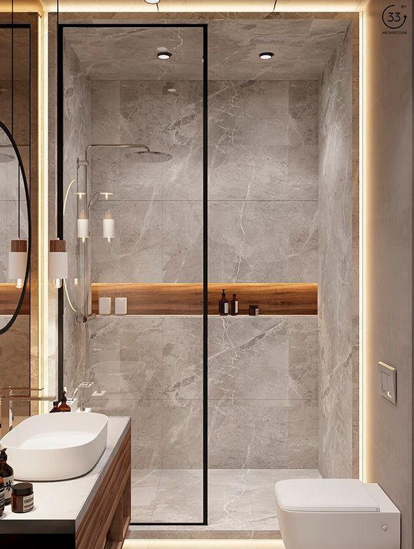 Exclusive bathroom in Chicago apartment