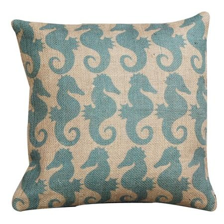 I pinned this Blue Seahorse Pillow from the Animal Kingdom event at Joss and Main!