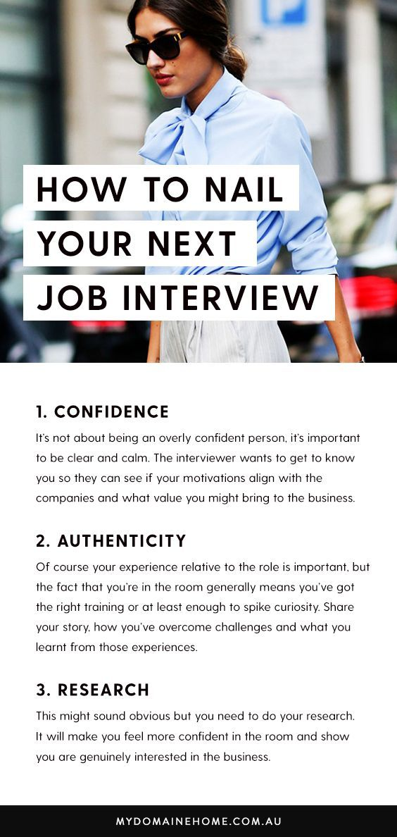 Nice What Does It Take To Nail A Job Interview? Confidence, The Right Attitude,