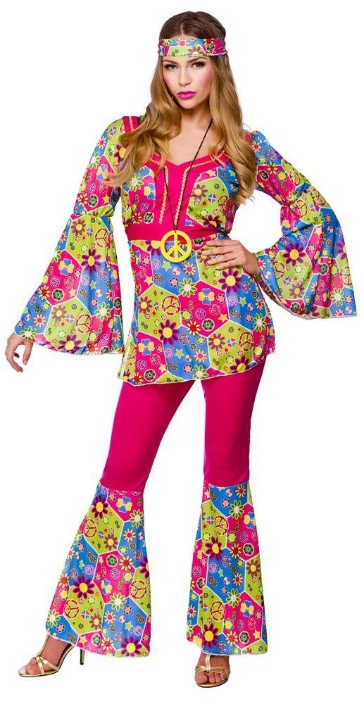 Womens Hippie Pants Costume