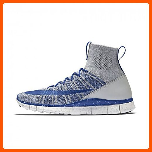 Nike Free Flyknit Mercurial mens shoes (8 D(M) US, Wolf Grey