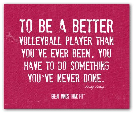 Volleyball Pictures And Quotes: Inspirational Volleyball Quotes On Pinterest