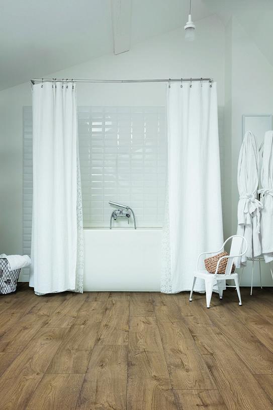 Choose The Perfect Bathroom Floor Quick Step Co Uk Waterproof Laminate Flooring Waterproof Bathroom Flooring Bathroom Flooring