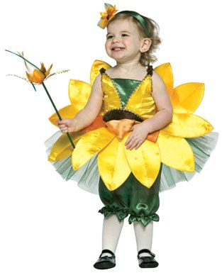 Baby Girls Flower Costume - Sunflower Infant  sc 1 st  Pinterest & Baby Girls Flower Costume - Sunflower Infant | Life with Felicity ...