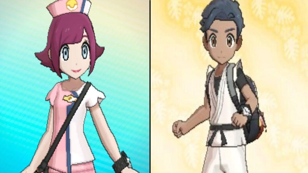 Pokemon Ultra Sun And Ultra Moon How To Get Nurse Joy Outfit Or Karate Pokemon Anime Cartoon