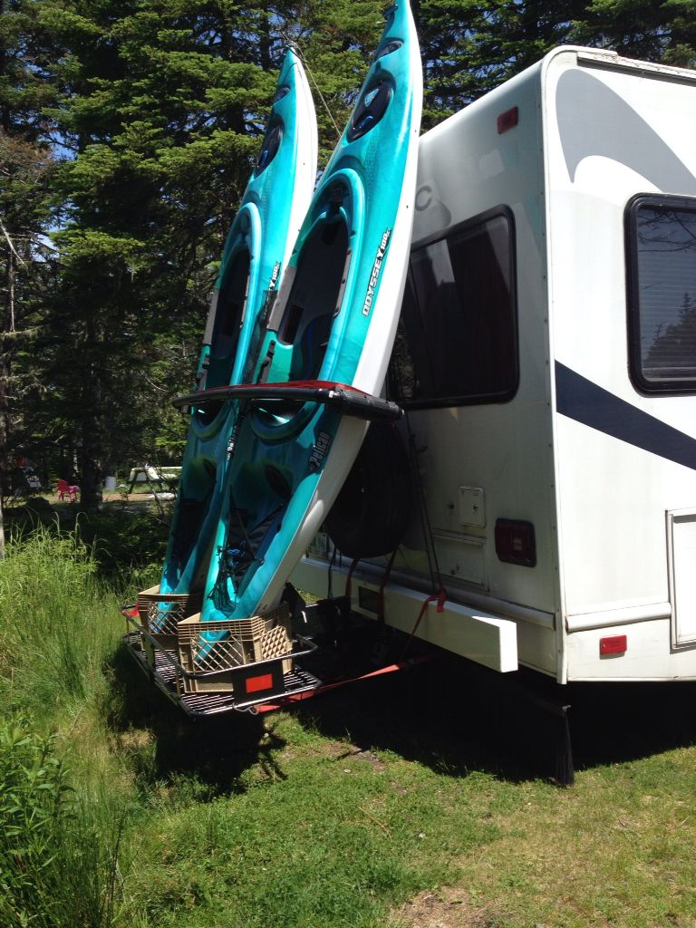 Rv: Kayak Rack, Kayak Camping