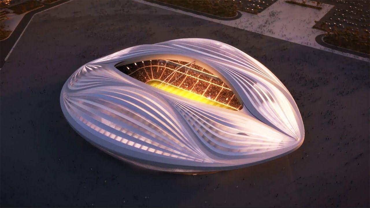 2022 Fifa World Cup Qatar Stadium Animations Qatar 2022 Youtube World Cup Stadiums 2022 Fifa World Cup Stadium Design