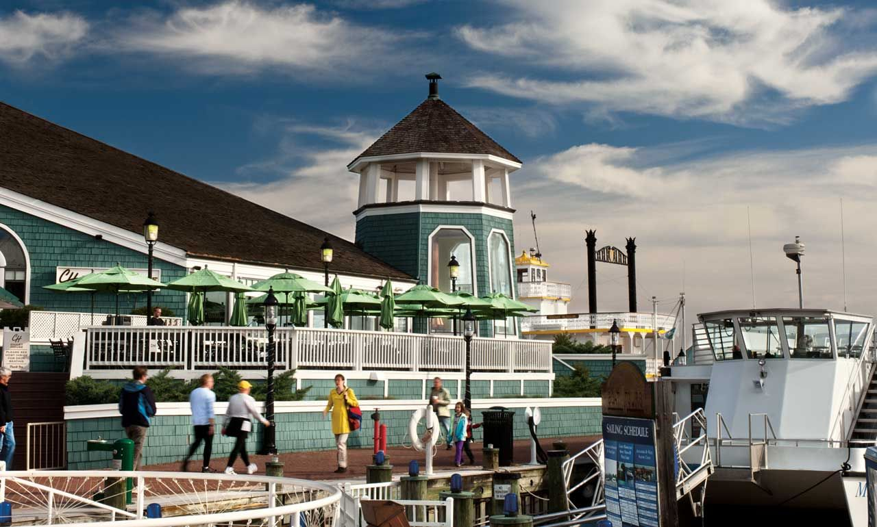 The Chart House Restaurant On Water In Old Town Has Stunning Views Of Capital