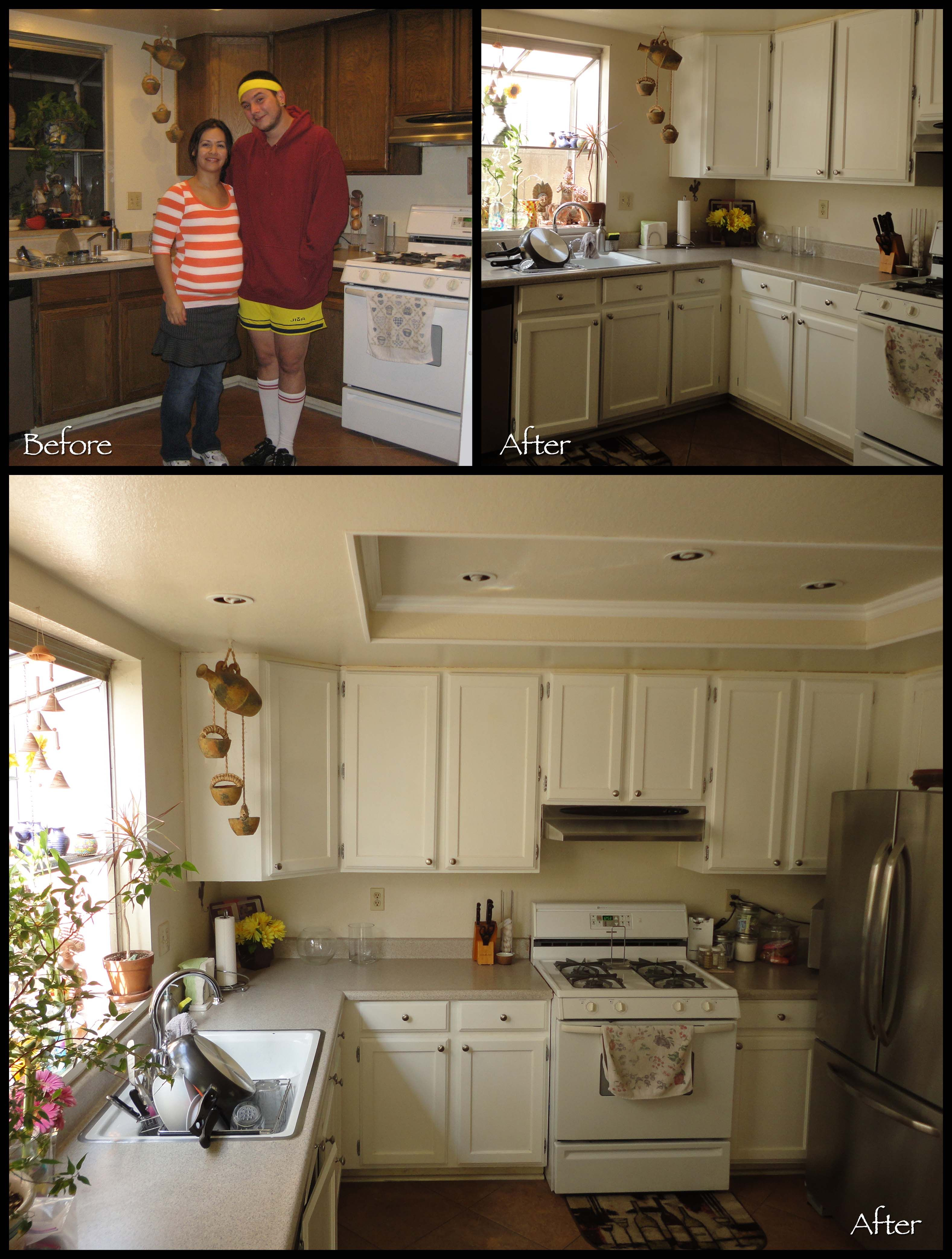 Refinished My Mom S Kitchen Cabinets With Rust Oleum Cabinet Transformation Kit Kitchen Cabinets Kitchen Kitchen Remodel