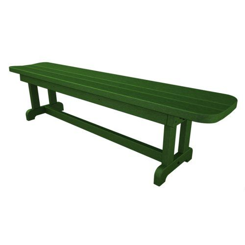 POLYWOOD® Park Harvester 6 ft. Recycled Plastic Backless ...