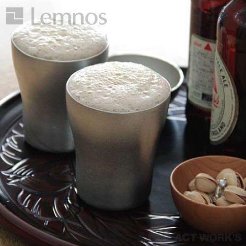 LEMNOS錫のタンブラーレディエール2個セット220ml