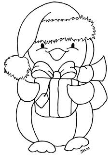 Riscos Graciosos Cute Drawings Riscos Natalinos Penguin Coloring Pages Free Christmas Coloring Pages Christmas Coloring Books