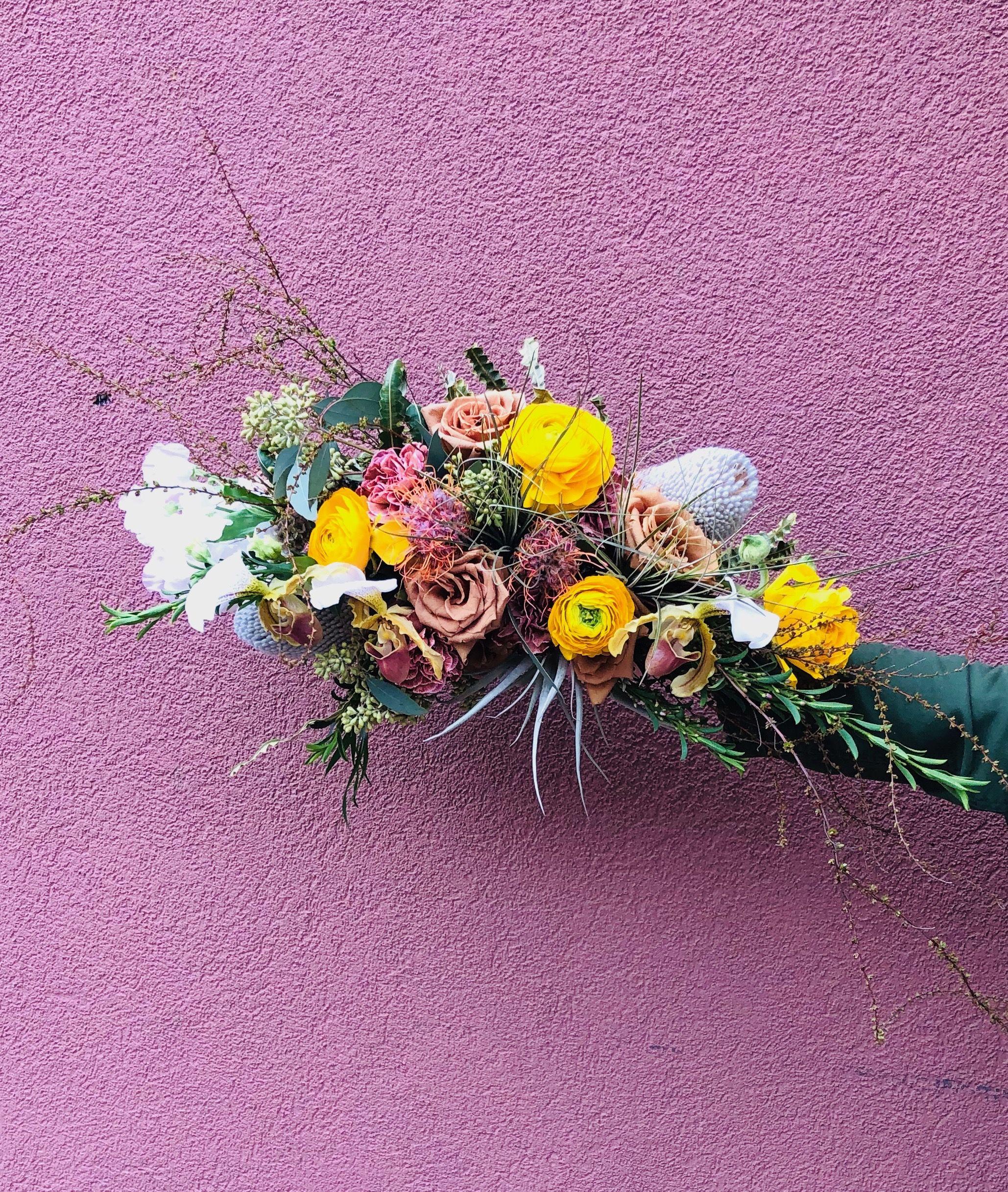Bridal bouquet with airplants bridal bouquet air plants