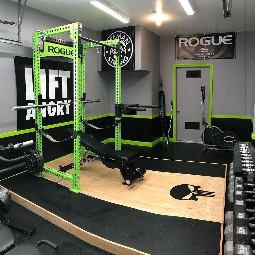44 Amazing Home Gym Room Design Ideas
