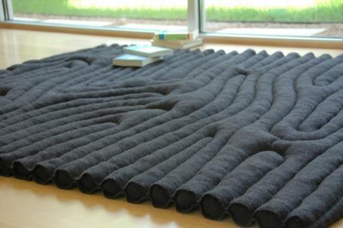 Redeploy Russian Army Blanket Rug by Rebekah Rauser