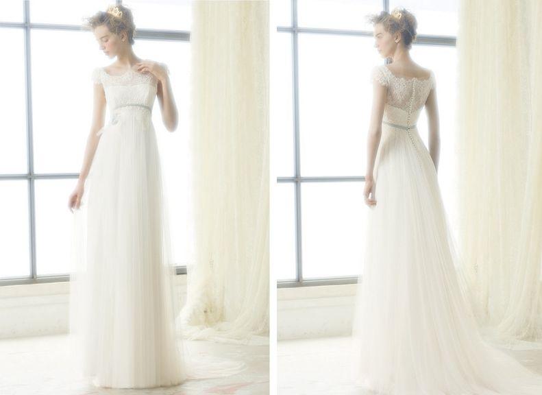 Das romantische Brautkleid Londres von Raimon Bundo | Hochzeit ...