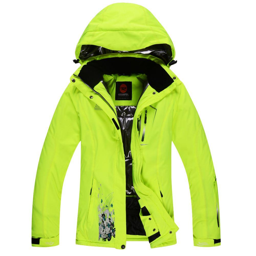868ac13d1cfd bright green ski jacket womens - Google Search