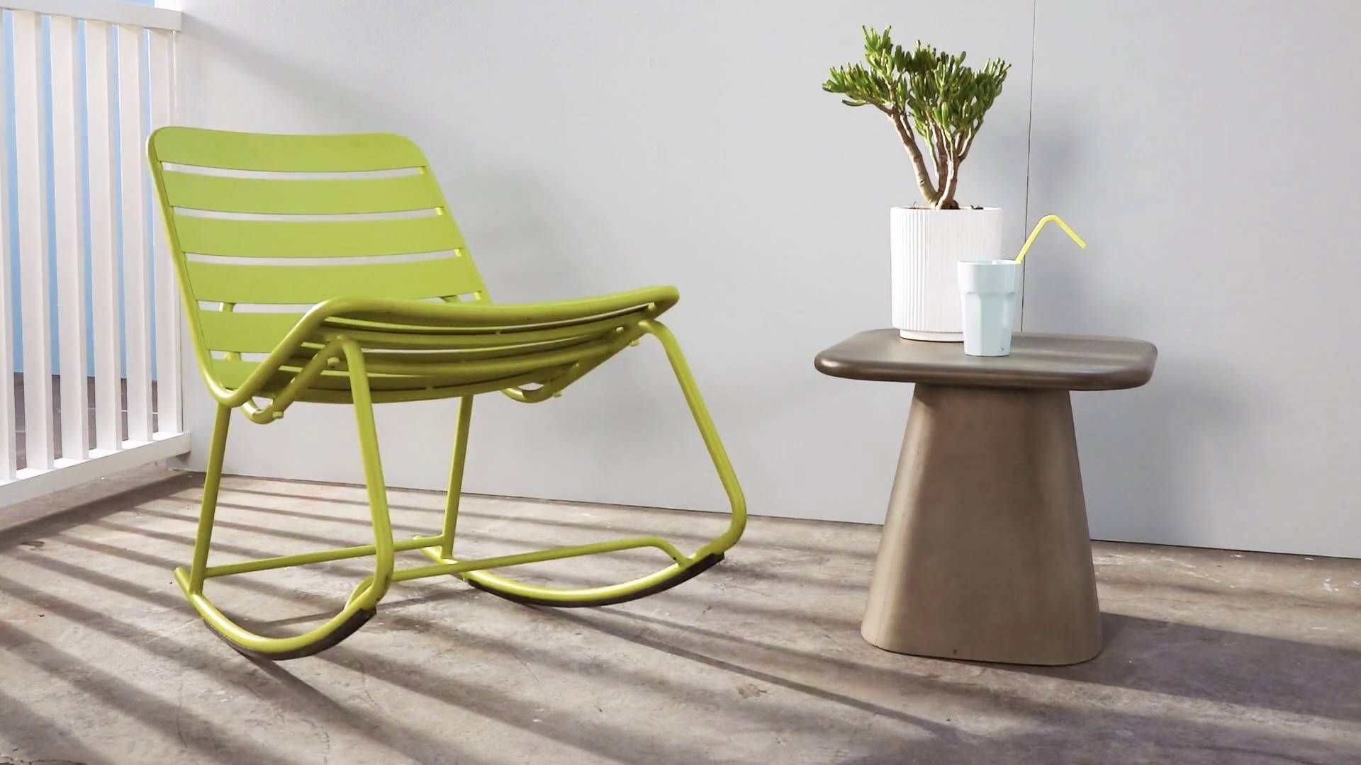 Excellent Made Chartreuse Lounge Chair New House Garden Chairs Squirreltailoven Fun Painted Chair Ideas Images Squirreltailovenorg