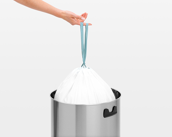 This is a Brabantia Big Bin which is suitable for any sized room. More information is available at http://wybone.co.uk/product/brabantia-big-bin-brilliant-steel/ Order online for a 48 hour delivery