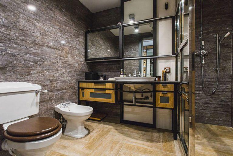Top Bagno Stile Industriale: 50 Idee di Arredo dal Design Originale TS54