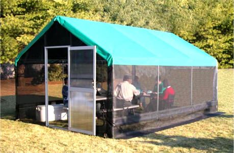 Ordinaire SCREENHOUSES Enjoy The Outdoors While Getting Great Protection From The Sun  And Unwanted Pests. This Shade House Is Perfect For The Backyard, Campsite,  ...