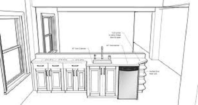 Standard Size Kitchen Island Table Click Details Woodworking Plan Gaby