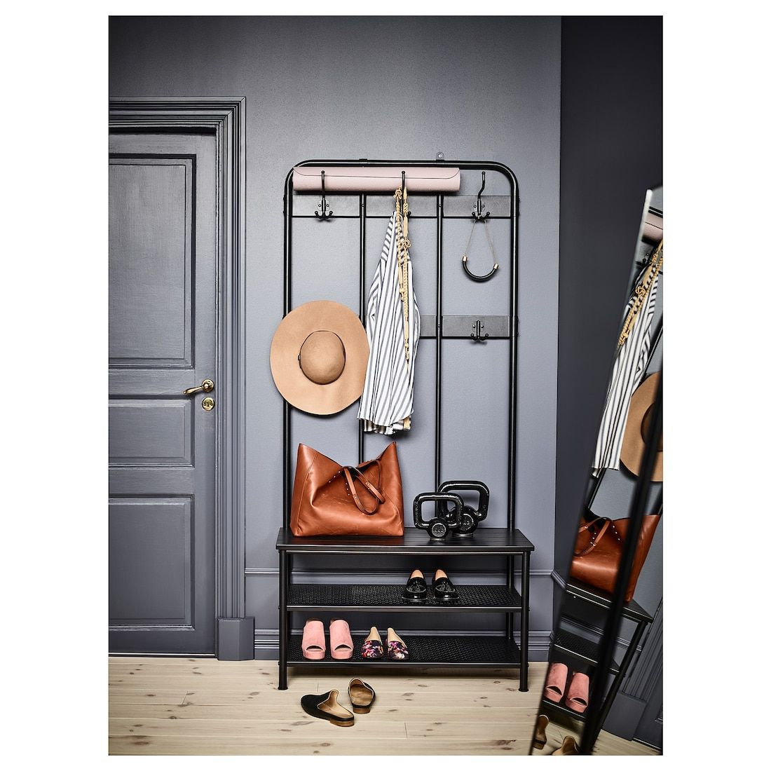Ikea Portis Schoenenrek.Ikea Garderobe Pinnig