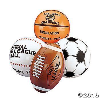 11IN INFLATABLE BALLS $8.98/12