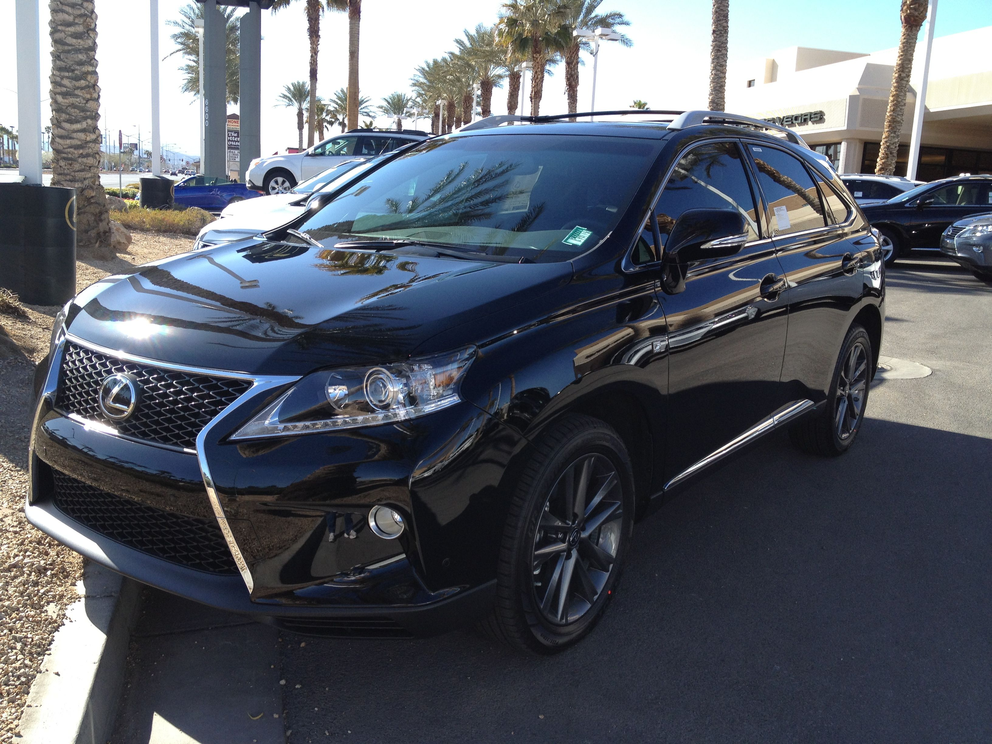 Lexus RX350 Black with black rims. My dream vehicle