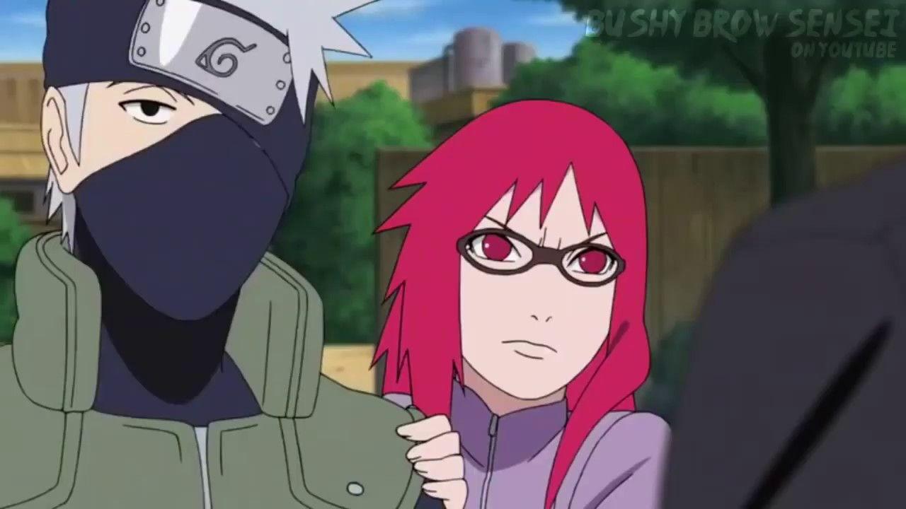 Karin Uzumaki Fall In Love With Naruto Naruto Anime Fall