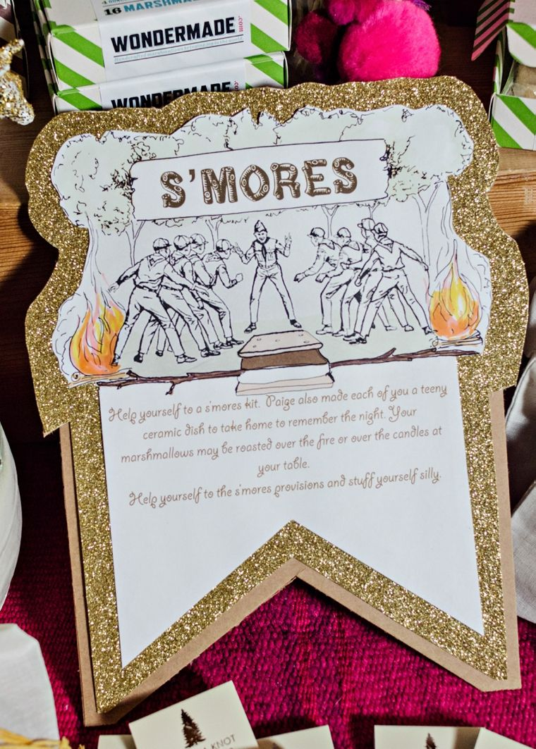 A Colorful Summer Camp Themed Wedding   Unique wedding themes ...