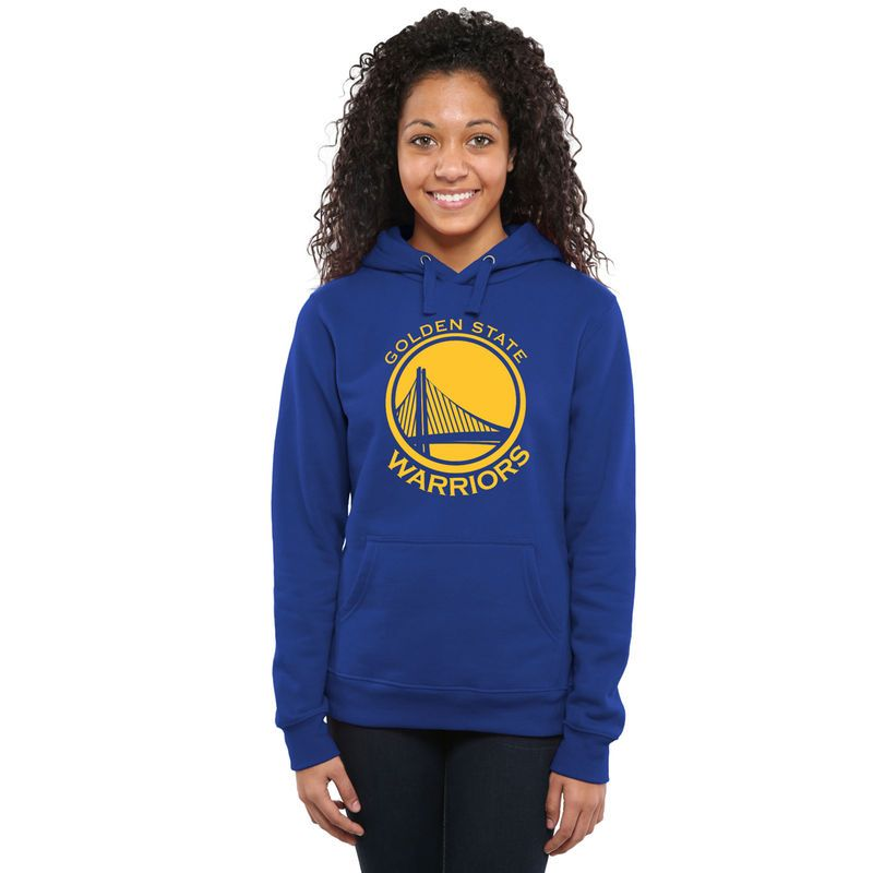 df86130388b Golden State Warriors Fanatics Branded Women s Primary Logo Pullover Hoodie  - Royal