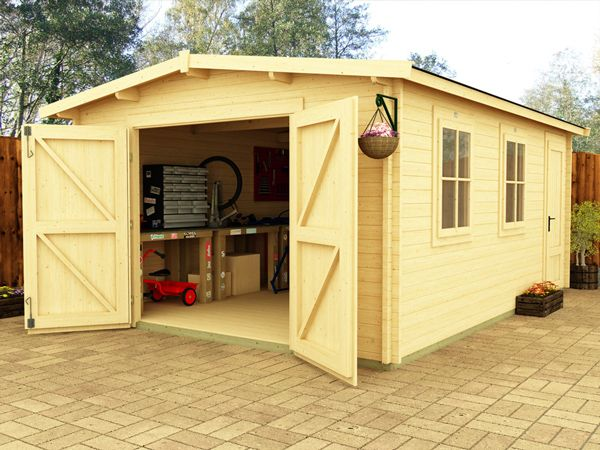 Large Wooden Garden Rooms: The New Deore Workshops Are An Excellent Place To Work On