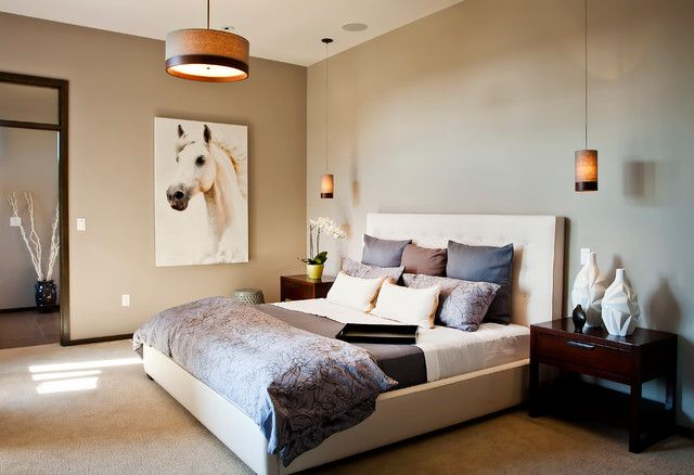 sherwin williams perfect greige bedroom | basement bedroom