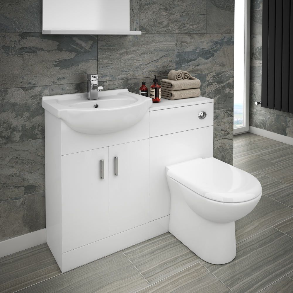 The Cove Combined Sink And Toilet Unit Includes A Basin Wc Toilet Stunning Sink Ideas For Small Bathroom Design Ideas