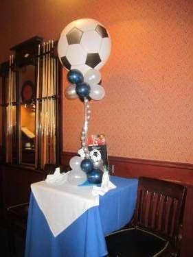Soccer - Balloon Centerpiece