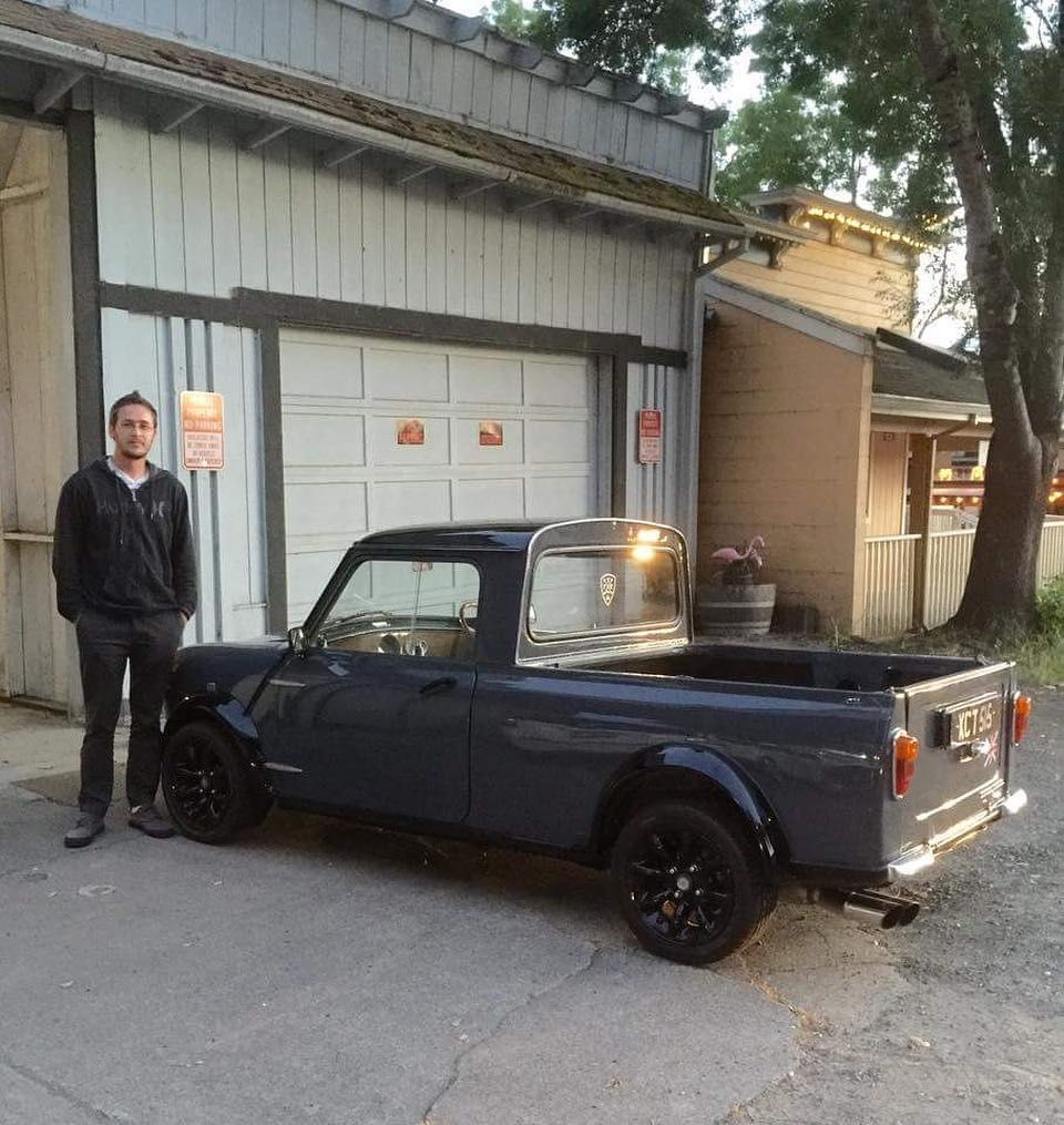 Ive Had This 1963 Morris Mini Cooper Pickup Since June Of 2017 Been A Childhood Dream To Have 1
