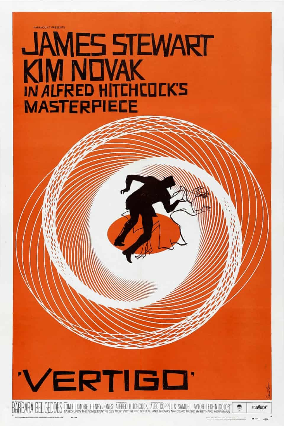 The classic film posters of Saul Bass – in pictures