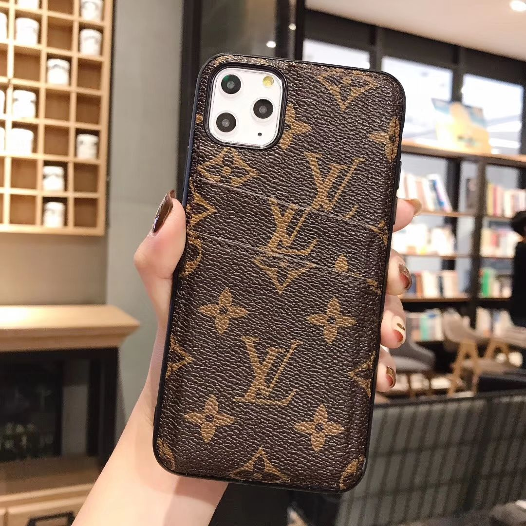 $26.52 Unique Monogram LV Leather Back Case For iP