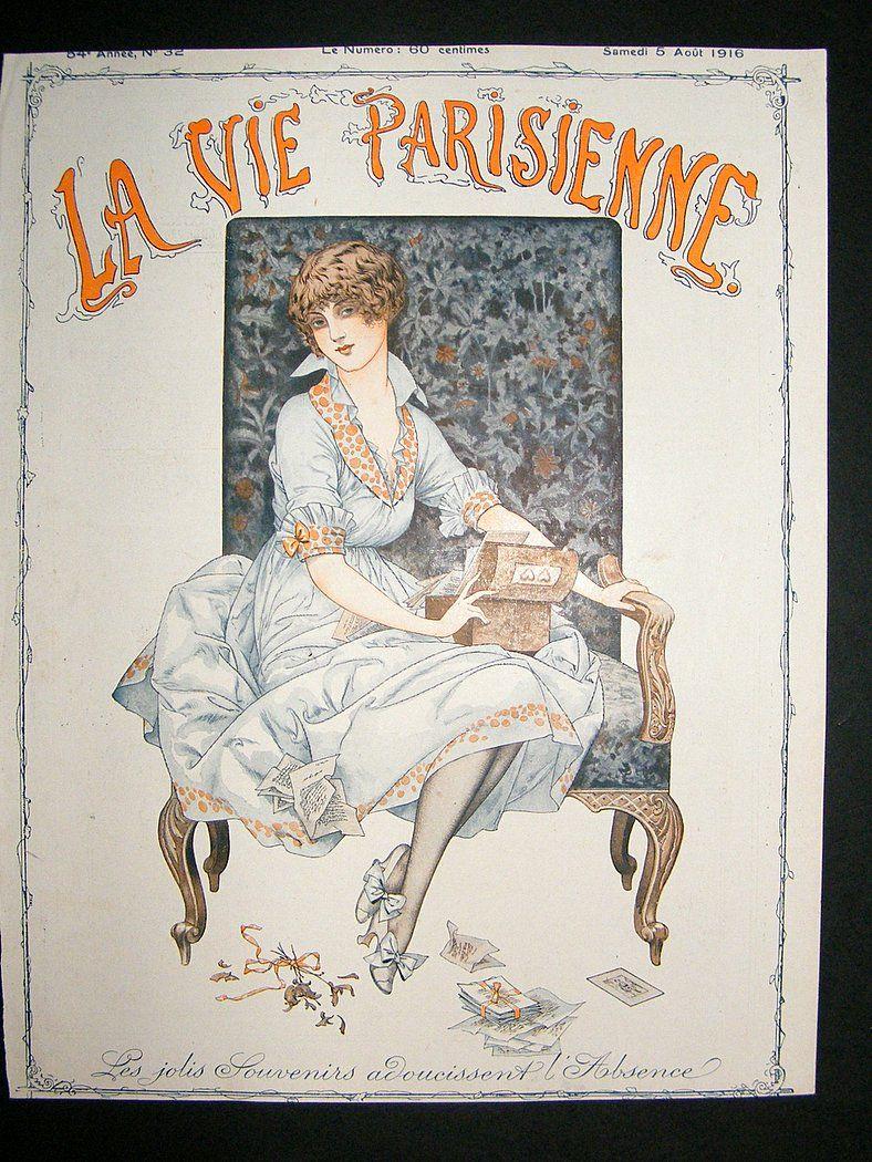 La Vie Parisienne | Arte | Pinterest | Vías y Arte