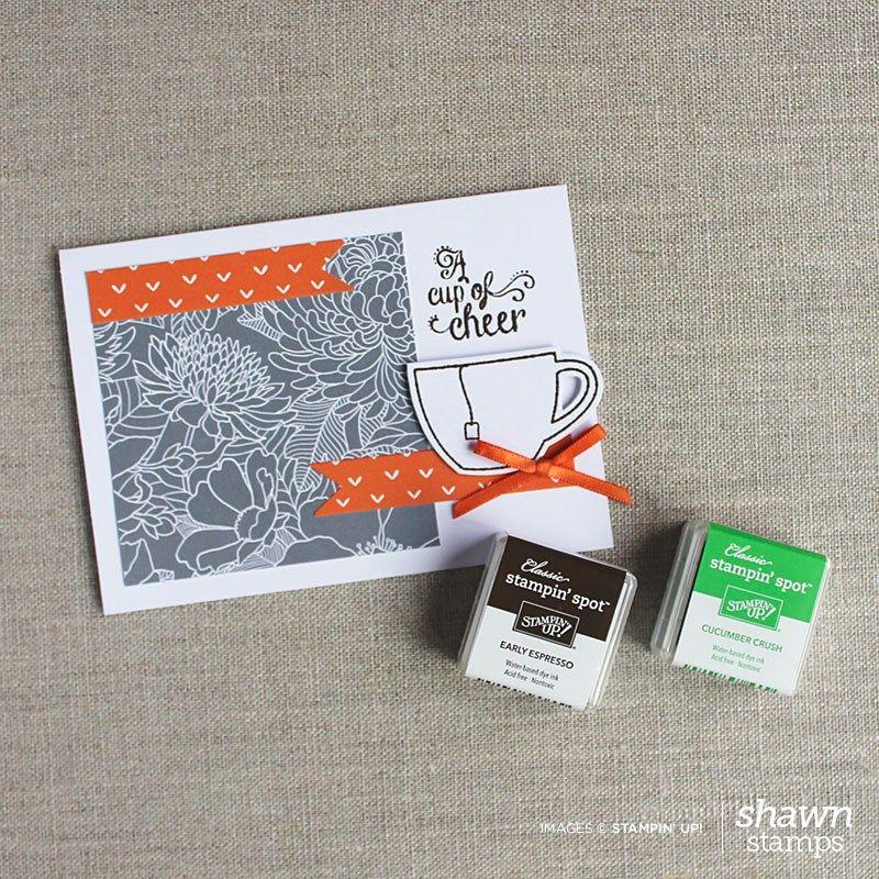 Paper Pumpkin July 2015 Alternative Card by ShawnStamps.com