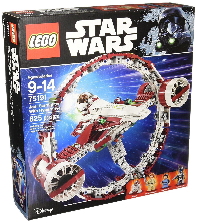 LEGO Star Wars Jedi Starfighter with Hyperdrive 75191 Building Kit 825 Piece