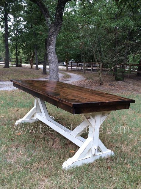 Farmhouse Table The Rustic Acre College Station Tx Custom Built Furniture